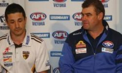 Peter Jackson VFL press conference