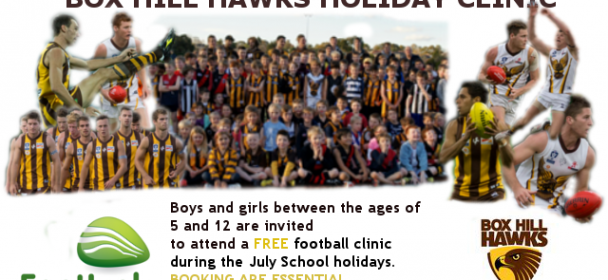 School Holidays Football Clinic