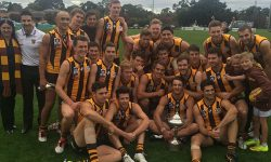 Seniors: Hawks overcome Coburg to continue dream start
