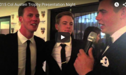2015 Col Austen Trophy Presentation Evening