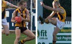 2 Hawks Feature in A. Todd Medal