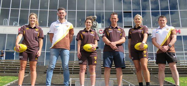 Box Hill & Hawthorn Football Clubs launch VFL Women's team!