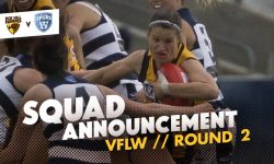 TEAMS: VFLW Round 2