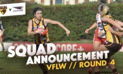 TEAMS: VFLW Round 4