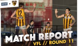 MATCH REPORT: Hawks Re-gain Winning Feeling
