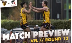 VFL – ROUND 13 MATCH PREVIEW
