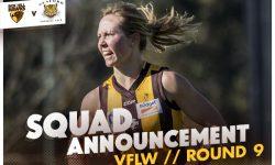 TEAMS: VFLW – Round 9