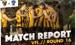 MATCH REPORT: Hawks March On