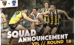 TEAMS: VFL Round 16