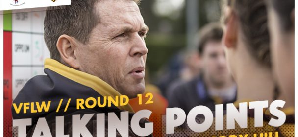 VFLW – Round 12 Talking Points