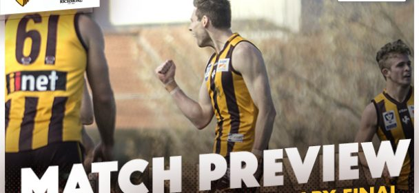 MATCH PREVIEW: Preliminary Final