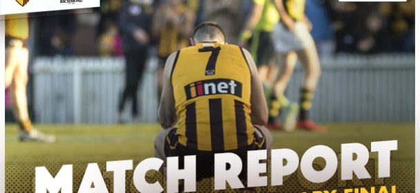 MATCH REPORT: Done A Week Too Soon