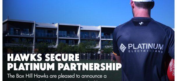 Hawks Secure Platinum Partnership