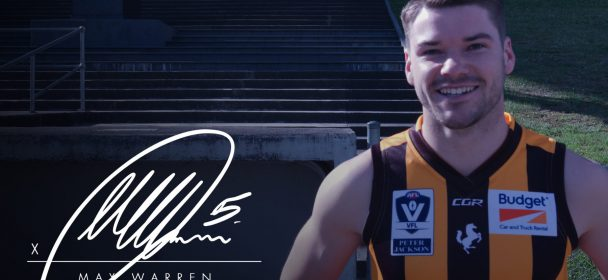 Warren Re-Signs