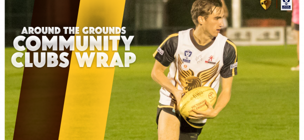 Around The Grounds: Community Clubs Wrap Up