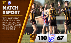 Round Fifteen Match Report