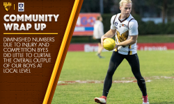 AUGUST 7: COMMUNITY CLUBS WRAP-UP