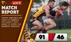 Round 20 Match Report