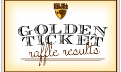 Golden Ticket Raffle Results