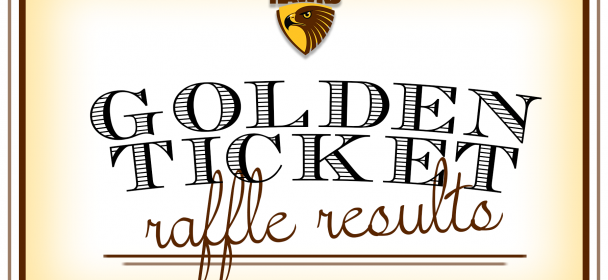 Golden Ticket Raffle Results