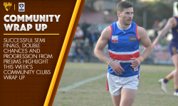 September 11: Community Clubs Wrap-Up