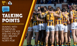 Preliminary Final Talking Points