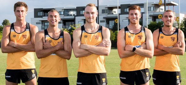 Moore to lead the Hawks into 2019