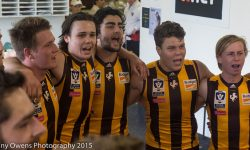 DEVELOPMENT: Hawks Book Grand Final Berth