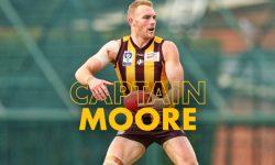 Moore to lead Hawks in 2018!