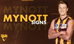 Mynott arrives at City Oval