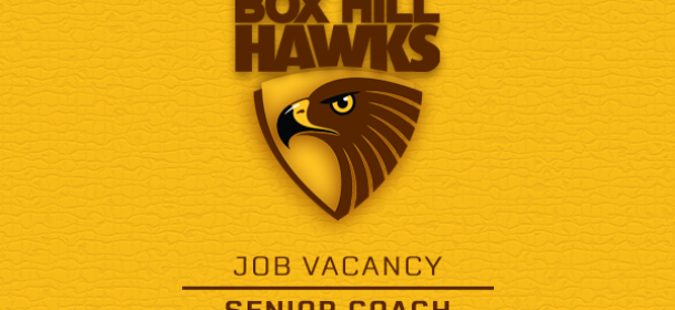 Job Vacancy – Senior Coach
